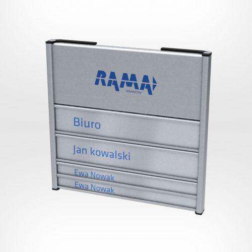 Tabliczki przydrzwiowe Universal 1