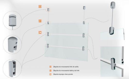 Tablice wiszące z plexi 2